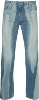 Anrealage bleach effect tapered jeans