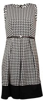 Calvin Klein Women's Plus-Size Belted Sleeveless Dress