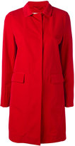 Herno single breasted coat - women - Cotton/Polyethylene/Acetate/Polyester - 42