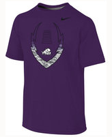 Nike Kids' TCU Horned Frogs Legend Football Icon T-Shirt