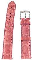 Michele 16mm Medium Pink Alligator Strap