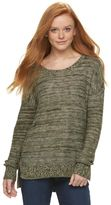 Mudd Juniors' Drop-Shoulder Sweater