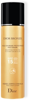 Christian Dior Bronze Beautifying Protective Oil In Mist Sublime Glow SPF15 125ml