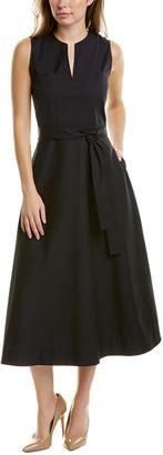 Lafayette 148 New York Janelle A-Line Dress