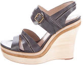 Chloé Leather Multistrap Wedges