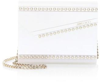 Jimmy Choo Candy Faux Pearl-Embellished Clutch