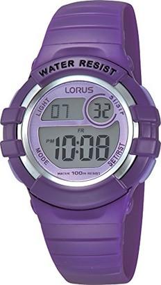 Lorus Girls Chronograph Digital Watch with PU Strap R2385HX9
