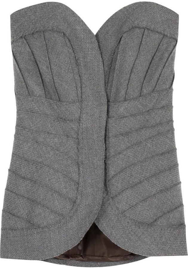 Herve Leger Wool bustier
