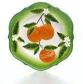 Martha Stewart Collection Serveware, Orange Salad Plate