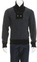 Dolce & Gabbana Shawl Collar Wool Sweater