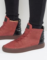 Religion Croc Hi Top Trainers
