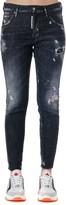 DSQUARED2 Black Denim Dan Skinny Jeans