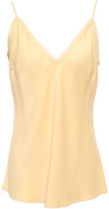 Frame Georgette-trimmed Satin-crepe Camisole