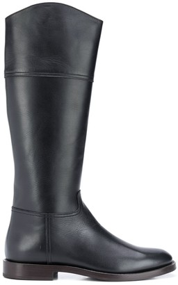 Brunello Cucinelli Knee-High Riding Boots