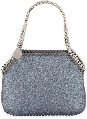 Stella McCartney New Falabella Tiny Glitter Tote Bag