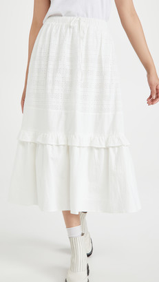 Meadows Bloom Skirt Midi