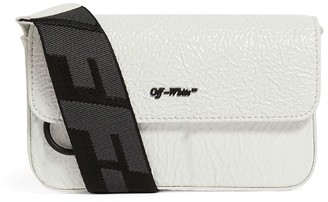 Off-White Off White Leather Cross-Body Bag