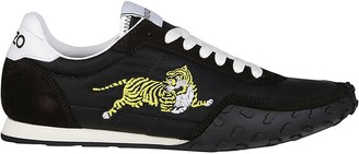 Kenzo Move Tiger Embroidered Low-Top Sneakers