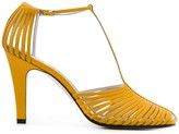 Givenchy cage effect 100mm peep toe sandals