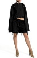 Puma Women's Fenty By Rihanna Crop Long Sleeve Sweatshirt