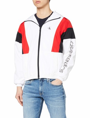 Calvin Klein Jeans Men's Color Block Track Jacket