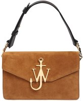 J.W.Anderson Logo Suede Shoulder Bag