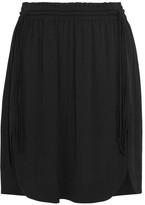 Etoile Isabel Marant Newis Crepe Mini Skirt - Black