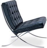 barcelona chair - chrome plated