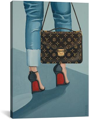 iCanvas Louis Vuitton Bag And Louboutin Heels