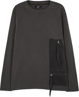 Blood Brother Tunnel Grey Cotton Sweatshirt
