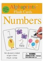 Macmillan Alphaprints: Wipe Clean Flash Cards Numbers