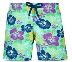 Vilebrequin Boys' Floral Print Swim Trunks - Little Kid, Big Kid