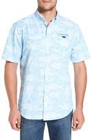 Vineyard Vines Men's Tuna Batic Harbor Short Sleeve Sport Shirt