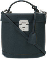 Mark Cross removable strap structured tote - women - Leather - One Size