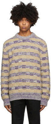 Acne Studios Multicolor Melange Crewneck Sweater