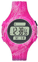 adidas Unisex Graphic-Print Polyurthane LCD Sports Watch