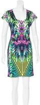 Just Cavalli Digital Print Mini Dress