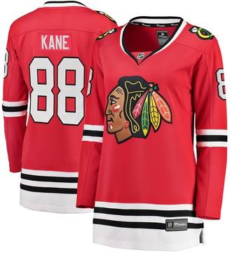 Women's Fanatics Branded Patrick Kane Red Chicago Blackhawks Home Breakaway Player Jersey
