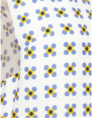 Thakoon Yellow Multi Layered Dress
