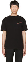 McQ by Alexander McQueen Black 'Swallow' T-Shirt