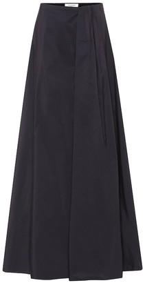 Valentino taffeta maxi skirt