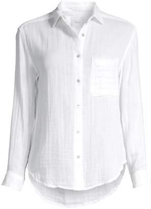Rails Ellis Linen Button-Down Shirt