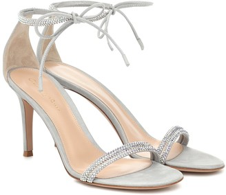 Gianvito Rossi Pascale 85 embellished sandals