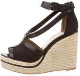 Hermes Espadrille Wedge Sandals