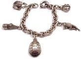 Kieselstein-Cord Kieselstein Cord Sterling Silver Charm Bracelet