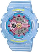 Casio Baby G Pretty Tough Blue Ladies Watch