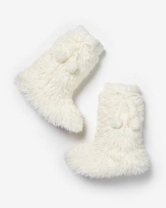 Express Fluffy Slipper Socks