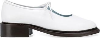 Nicole Saldaña Fabian 40mm lace-up loafers