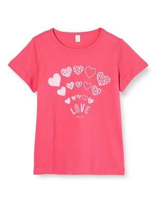 Esprit Girl's Rq1013301 T-Shirt Ss