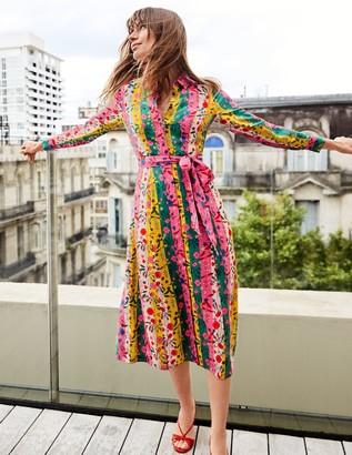 Orella Silk Shirt Dress